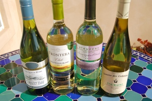 Sauvignon Blanc from New Zealand, Chile, California and France.