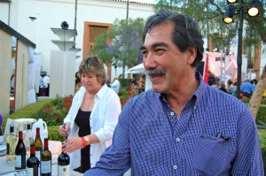 Gustavo Brambila was on hand to talk about his wines at this year's event.