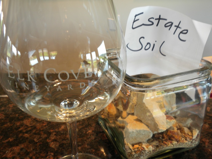 The soil where vineyards are planted is an almost literal example of terroir.