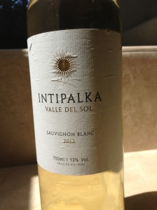 Intipalka Sauvignon Blanc is made by Santiago Queirolo, one of Peru's longest-standing wineries.