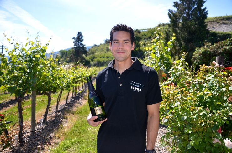 Winemaker Craig is 41 but I don't believe him. And sorry chicas--Craig is happily married.