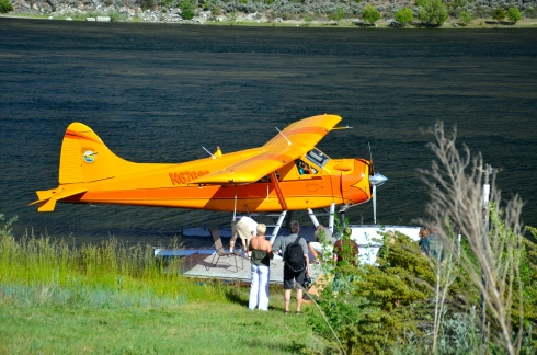 The seaplane that carried us over Lake Chelan.
