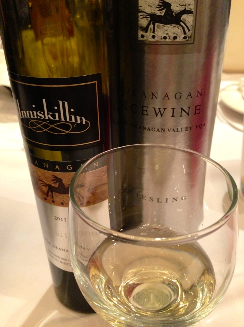 Inniskillin's classy packaging. Oh, and the wine's pretty good, too.