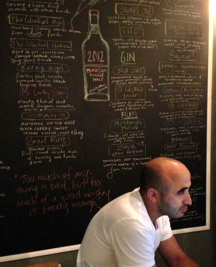Owner Adnen Marouani explains the philosophy behind his wine selections.