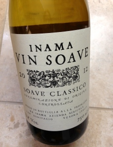 This grapes used in this Soave Classico were grown in 100 percent volcanic soil.
