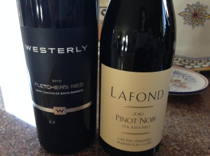 Red wines from Santa Barbara County.
